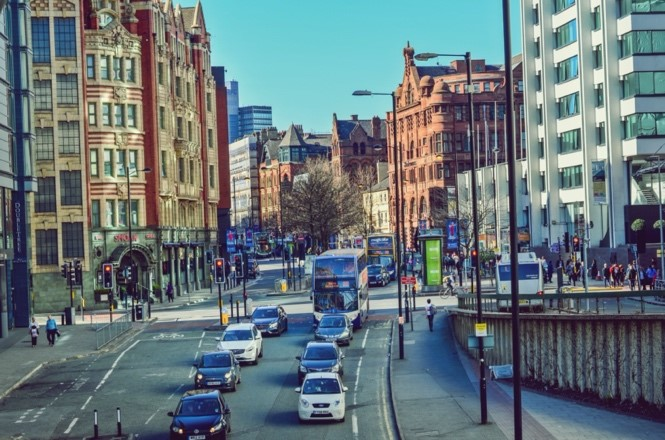 Smart Junctions in Manchester by Vivacity Labs