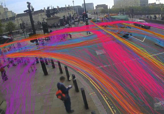 Vivacity sensor paths