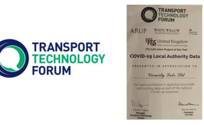 TTF Certificate of Appreciation