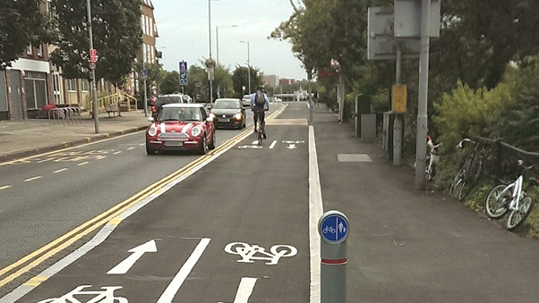 Sutton and Kingston Councils cycle lane management with Vivacity