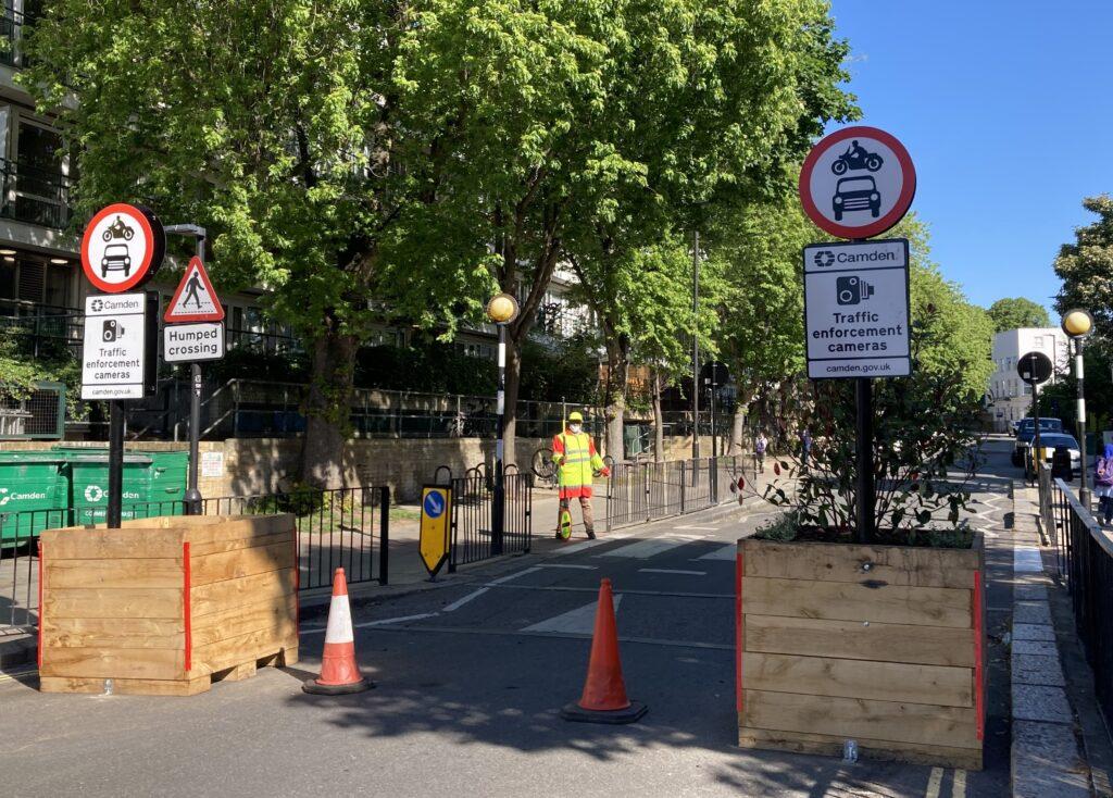 School Street scheme in north London