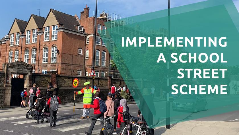 School street scheme in Hackney, London